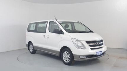 2013 Hyundai iMAX TQ MY13 White 4 Speed Automatic Wagon Perth Airport Belmont Area Preview