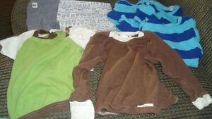 Organic Cotton Bby clothes - Like New!
