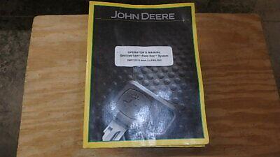 John Deere Operators Manual Greenstar Field Doc 147 Pages B16