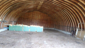Storage or Parking - Quonset For Rent , Highway 36 Near Hanna AB