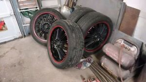 """Kasino 20"""" Rims Great Condition with tires Windsor Region Ontario image 2"""