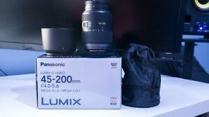 Panasonic Lumix 45-200mm MEGA O.I.S Lens