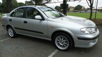 2000 Nissan Pulsar N16 ST Silver 5 Speed Manual Sedan Granville Parramatta Area Preview