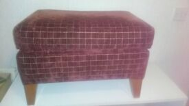 Foot stool very comfy great condition