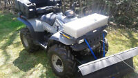 ATV,Plow and Utility Trailer Pkg.