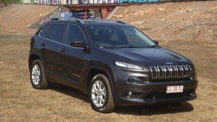 2014 Jeep Cherokee KL Longitude Grey 9 Speed Sports Automatic Wagon