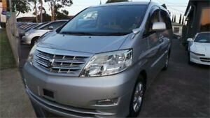 2006 Toyota Alphard V SERIES MY06 ANH10 Silver Automatic Greenacre Bankstown Area Preview