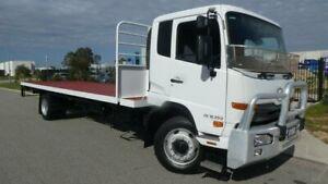 2012 United Diesel PK16 PKC8E 250 CONDOR White Flat Deck 7800CCl 4x2 Bassendean Bassendean Area Preview