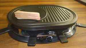 raclette and grill machine