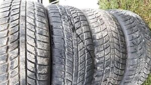for sale     4- winter tires    215/55/16