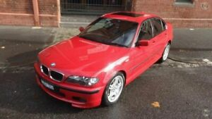 2004 BMW 318i E46 Sport Imola Red 5 Speed Auto Steptronic Sedan North Melbourne Melbourne City Preview