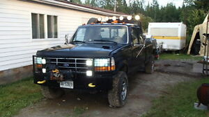 1995 Ford F-250 xl Pickup Truck Safetied