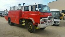 1985 Isuzu fts12h  Red Firetruck 4WD Deagon Brisbane North East Preview