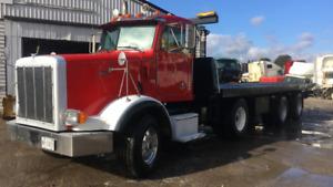 Peterbilt 367 - 2001 - NRC Tilt and load tow truck