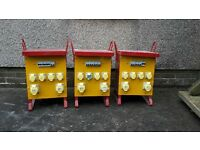worksite transformers