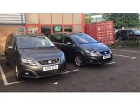 CAR FOR RENT - SEAT ALHAMBRA 7 SEATER/AUTOMATIC/BLUE MOTION