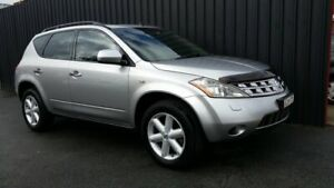 2005 Nissan Murano Z50 TI Silver Continuous Variable Wagon Phillip Woden Valley Preview