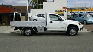 2009 Holden Colorado RC MY09 LX White 4 Speed Automatic Cab Chassis Victoria Park Victoria Park Area Preview