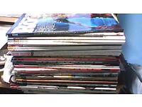 35 x MUSIC MAGAZINES-SOME WITH CD'S-CLASSIC ROCK-RECORD COLLECTOR-PROG-MOJO-UNCUT