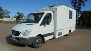 2006 Mercedes-Benz Sprinter 906 515CDI LWB White 5 Speed Automatic Cab Chassis Condell Park Bankstown Area Preview