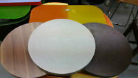"DESSUS TABLE ROND / ROUND TABLE TOP 24"" CAFÉ / CLUB LIQUIDATION"