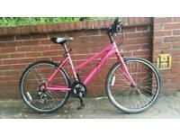 Ladies Dawes hybrid aluminium frame bike