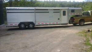 1997 Featherlite Stock Trailer With Living Quarters