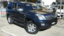 2003 Toyota Landcruiser Prado GRJ120R Grande (4x4) Blue 4 Speed Automatic Wagon Homebush Strathfield Area Preview