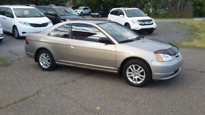 2003 Honda Civic LX beige Or Coupé (2 portes)