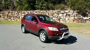2006 Holden Captiva CG LX Red 5 Speed Automatic Wagon Nerang Gold Coast West Preview