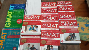 Official GMAT & Manhattan Guides Bundle
