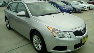 2013 Holden Cruze JH Series II MY13 CD Sportwagon Silver 6 Speed Sports Automatic Wagon Maryville Newcastle Area Preview