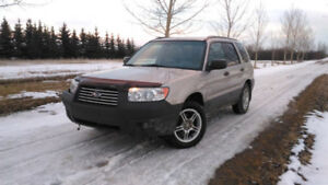 Damaged 2007 Subaru Forester with Parts car w/ ALL Parts to Fix