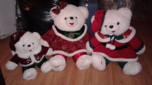 gros toutou Hello Kitty,9 peanut, 4 tweety,gros ours,3 ours Noël