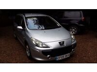 Peugeot 307 1.6s HDI estate 2006 Full years MOT good runner