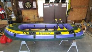 Seahawk 400 Inflatable boat with motor