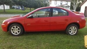 2002 Dodge Neon, 205,000 km, good cond.
