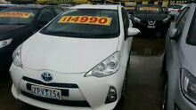 2013 Toyota Prius c  White Constant Variable Hatchback Dandenong Greater Dandenong Preview