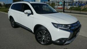 2017 Mitsubishi Outlander ZK MY17 LS 2WD White 6 Speed Constant Variable Wagon Bassendean Bassendean Area Preview