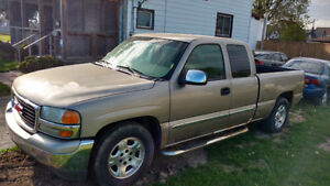 2002 GMC Sierra 1500 Pickup Truck $1500 OBO