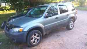 NEED GONE 2005 ford escape