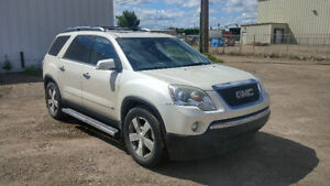 2009 GMC Acadia SLT2 Awd, DVD, remote start! 7 PASSENGER.