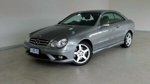 2009 Mercedes-Benz CLK280 C209 MY08 Avantgarde Grey 7 Speed Automatic Coupe Hobart CBD Hobart City Preview