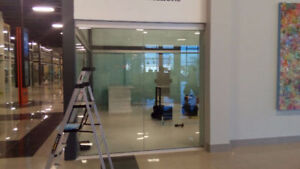 Office Glass Partition Walls- Glass Doors from $12 sqf,