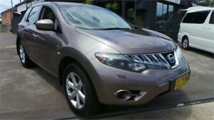 2009 Nissan Murano Z50 ST Bronze Continuous Variable Wagon Greenacre Bankstown Area Preview
