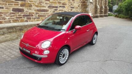 2013 Fiat 500 TWIN AIR LOUNGE Twin Air Lounge 5 Speed Manual Convertible Kent Town Norwood Area Preview