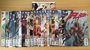 The Flash Comic Books (31-52, 1-3) Greystanes Parramatta Area Preview