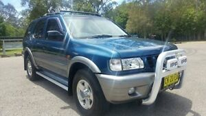 2001 Holden Frontera MX S (4x4) Blue 5 Speed Manual 4x4 Wagon Tuggerah Wyong Area Preview