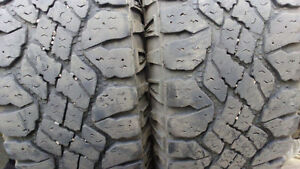 2 used truck tires.GoodYearDuratrackLT265/70R17LoadE $120for2