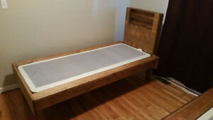 dorm room twin xl solid wood bed frame free delivery
